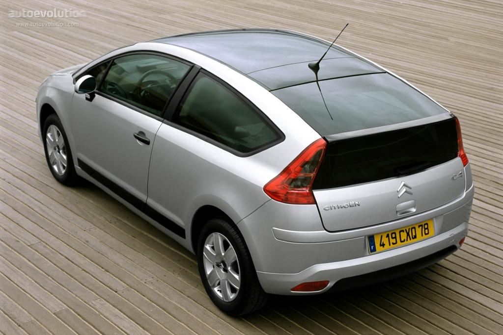 CITROEN C4 Coupe - 2004, 2005, 2006, 2007, 2008 - autoevolution