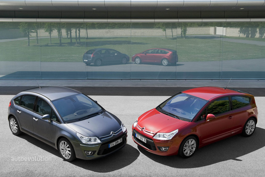 citroen c4 coupe specs photos 2008 2009 2010 autoevolution. Black Bedroom Furniture Sets. Home Design Ideas