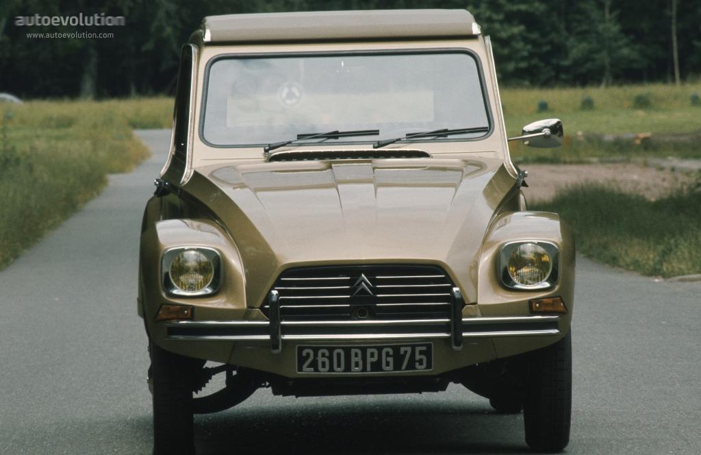 Citroen Dyane Specs 1969 1970 1971 1972 1973 1974
