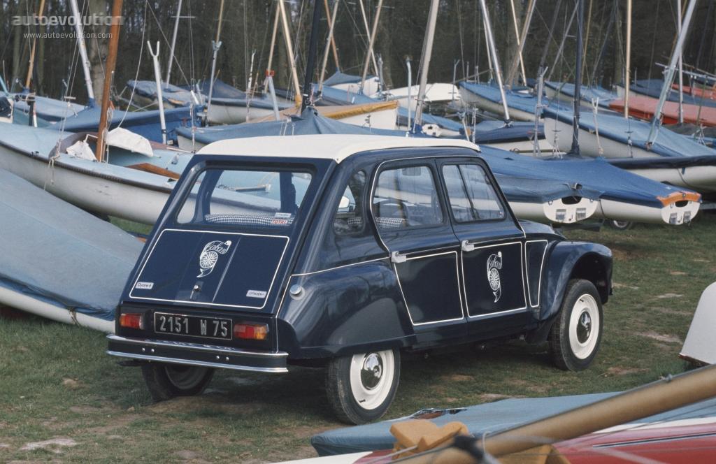 CITROEN Dyane specs - 1969, 1970, 1971, 1972, 1973, 1974 ...