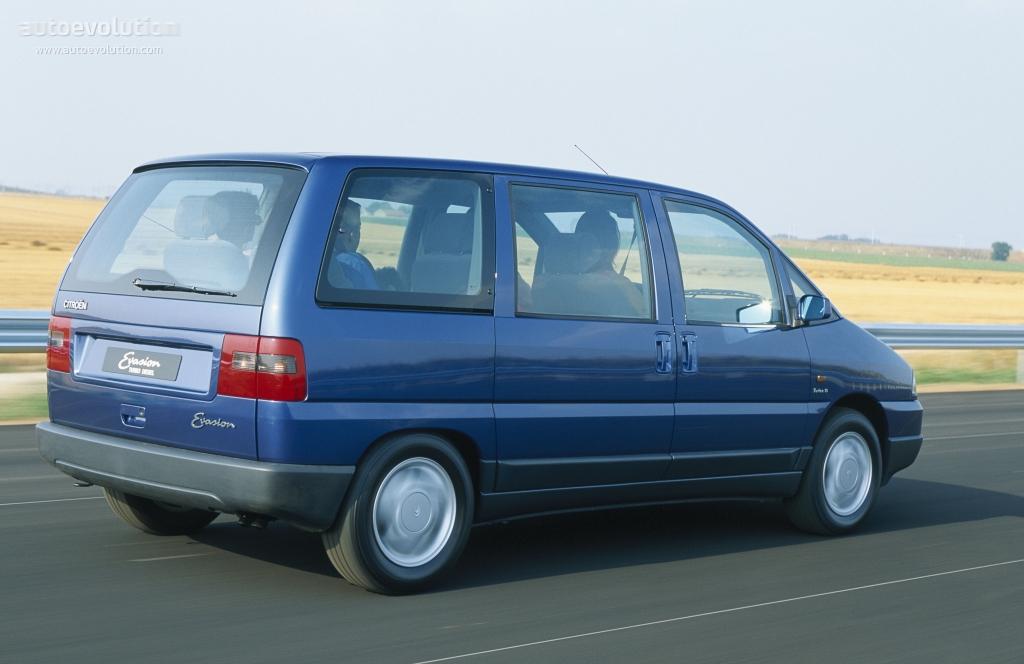 Citroen Evasion 1994 1995 1996 1997 1998 Autoevolution