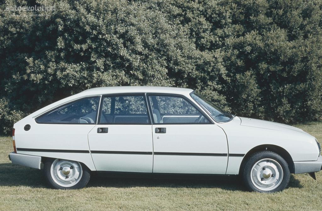 CITROEN GSA specs & photos - 1979, 1980, 1981, 1982, 1983 ...