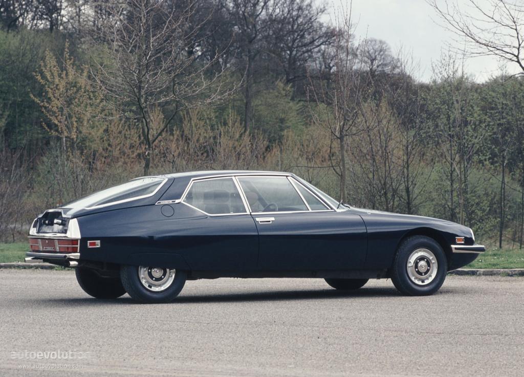 CITROEN SM - 1970, 1971, 1972, 1973, 1974, 1975 ...