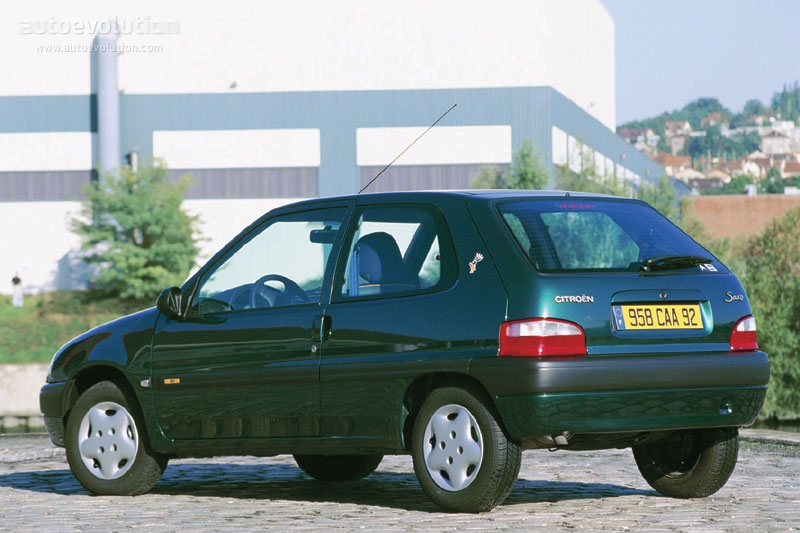 citroen saxo 3 doors specs photos 1998 1999 2000 2001 2002 2003 autoevolution. Black Bedroom Furniture Sets. Home Design Ideas