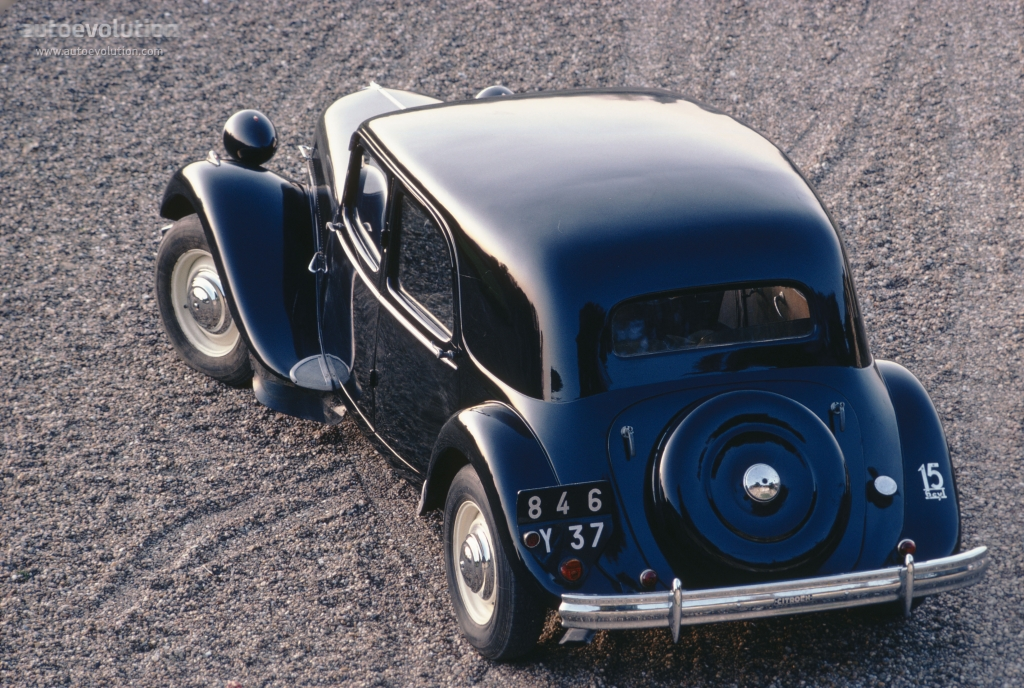 Citroen Traction 15 G Saloon 1938 1939 1940 1941