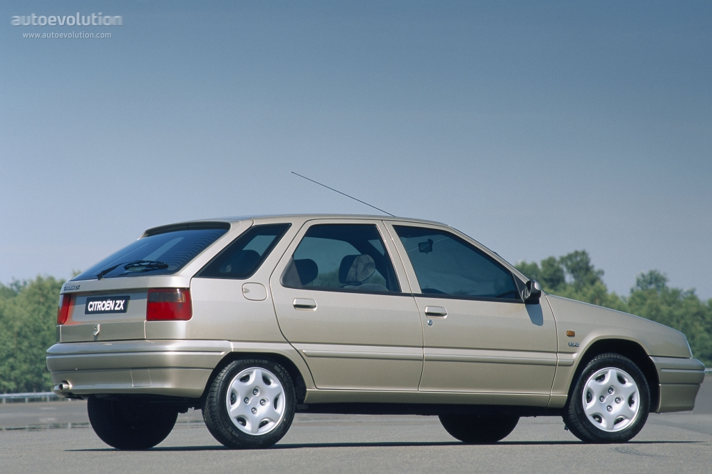 Citroen Zx 5 Doors Specs 1996 1997 Autoevolution