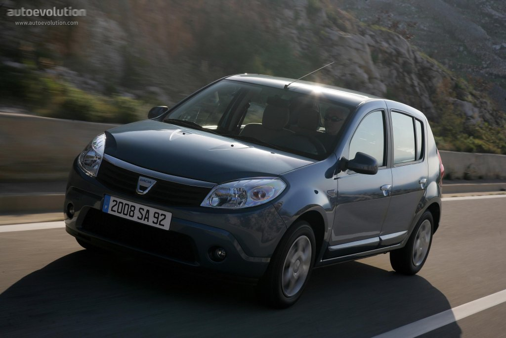 dacia sandero specs 2008 2009 2010 2011 2012 autoevolution. Black Bedroom Furniture Sets. Home Design Ideas