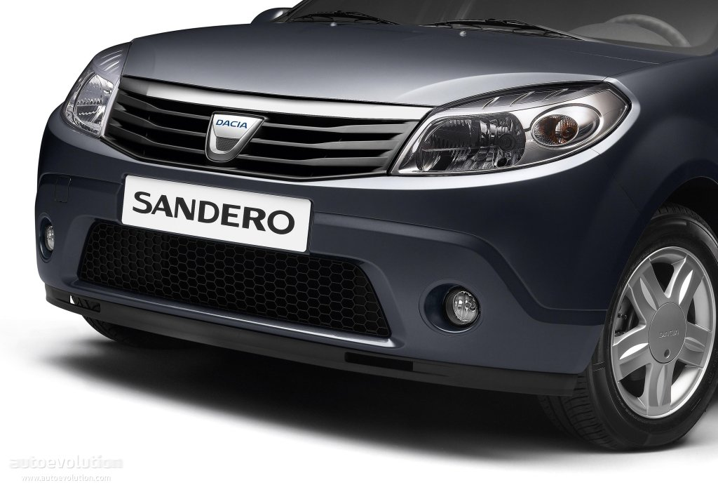 dacia sandero specs photos 2008 2009 2010 2011 2012 autoevolution. Black Bedroom Furniture Sets. Home Design Ideas