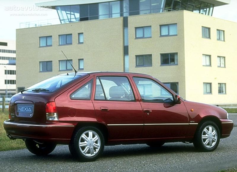 DAEWOO Cielo/Nexia Hatchback 5 Doors specs - 1994, 1995, 1996, 1997