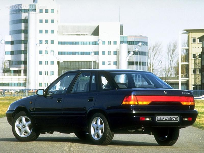 DAEWOO Espero specs - 1990, 1991, 1992, 1993, 1994, 1995, 1996, 1997
