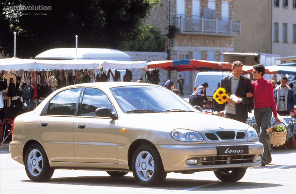 DAEWOO Lanos specs - 1996, 1997, 1998, 1999, 2000, 2001, 2002 ...