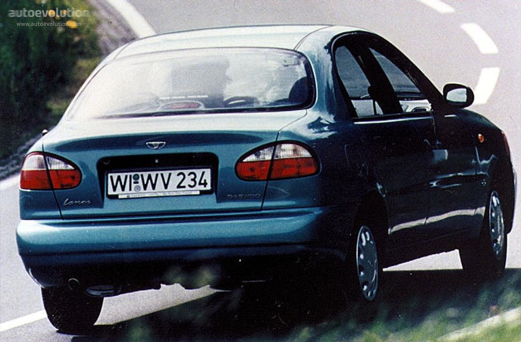 Daewoo Lanos 1996 1997 1998 1999 2000 2001 2002 Autoevolution