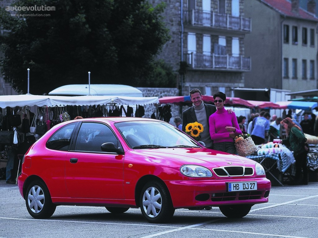 DAEWOO Lanos Hatchback 3 Doors specs - 1996, 1997, 1998, 1999, 2000