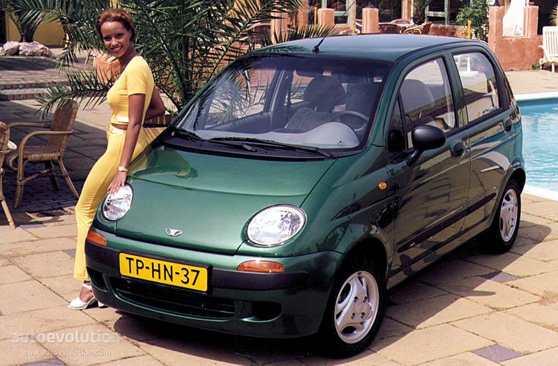 Daewoo Matiz 1998 1999 2000 2001 2002 2003 2004