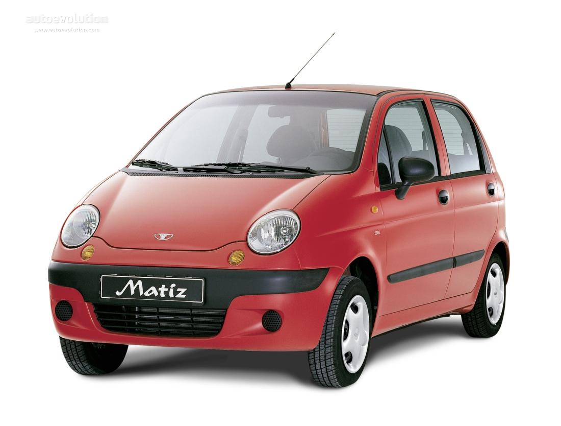 Daewoo Matiz Specs 2001 2002 2003 2004 2005
