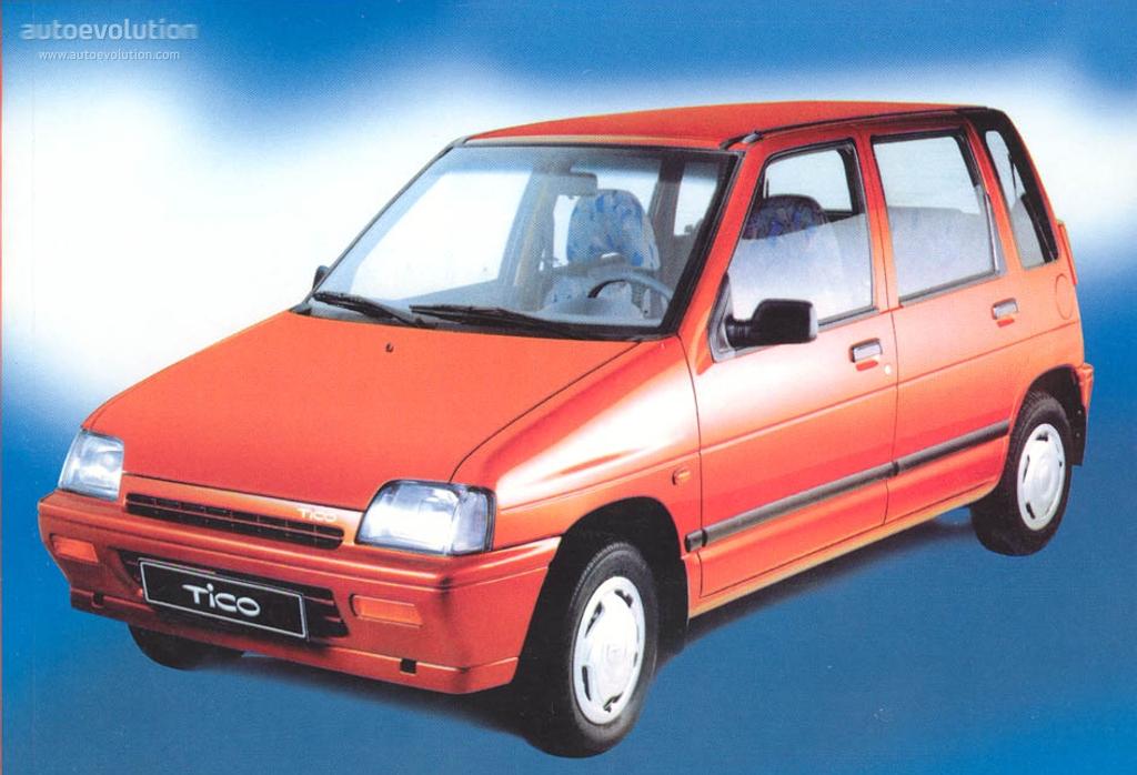 Daewoo Tico Specs 1991 1992 1993 1994 1995 1996