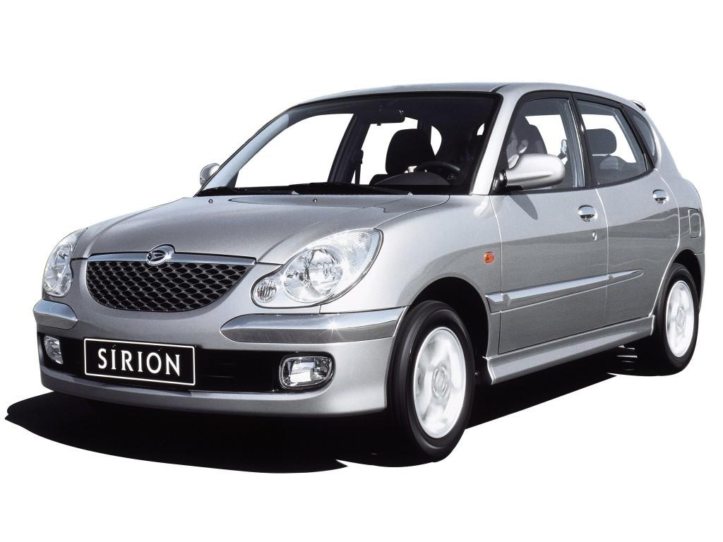 DAIHATSU Sirion specs & photos - 2001, 2002, 2003, 2004 ...