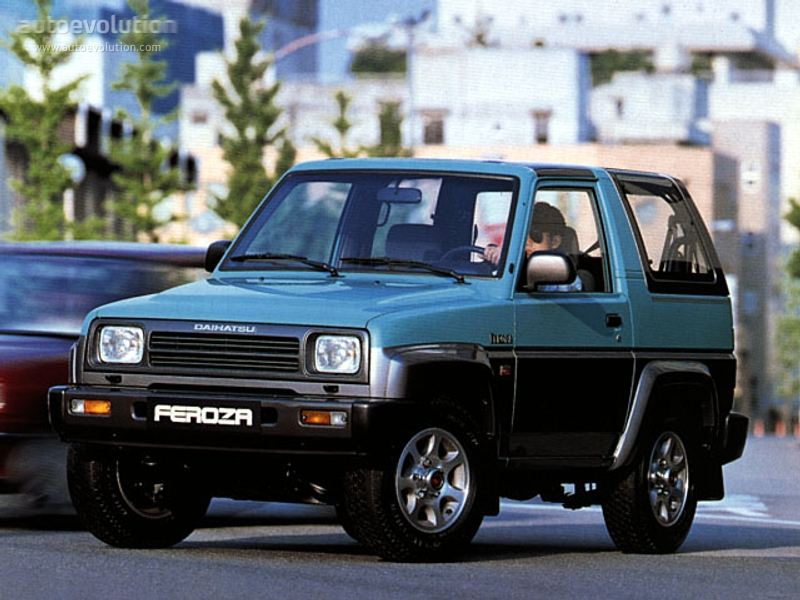 Daihatsuferozahardtop on 1993 Toyota Truck Engine