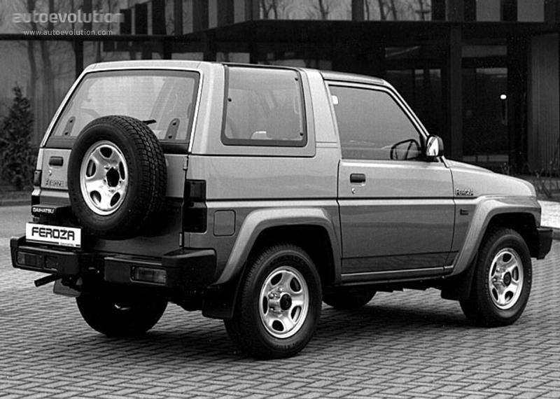Daihatsu Feroza Hardtop 1991 1992 1993 1994