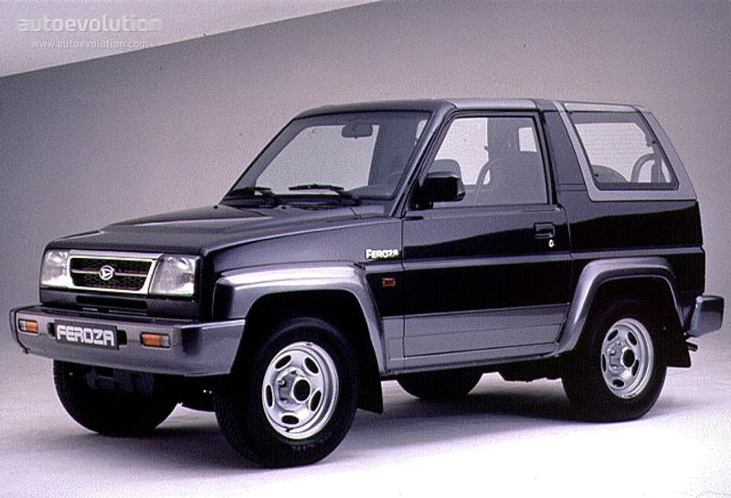 Daihatsu Feroza Hardtop Specs 1994 1995 1996 1997