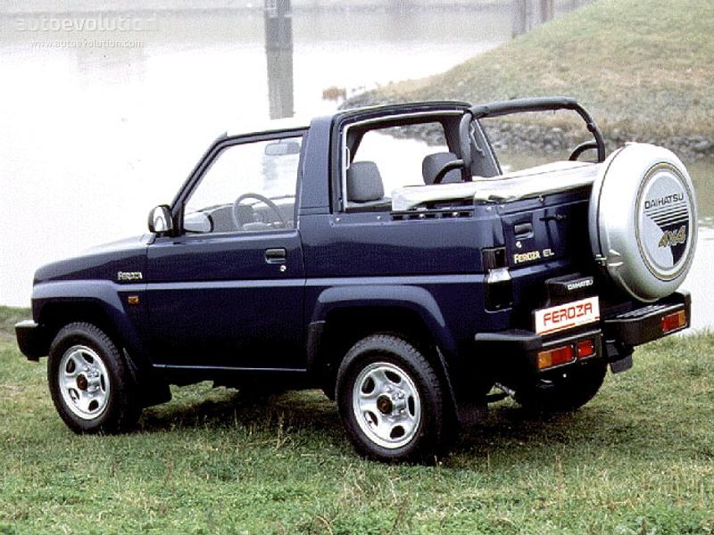 Rocky Top Auto >> DAIHATSU Feroza Softtop specs & photos - 1995, 1996, 1997, 1998 - autoevolution