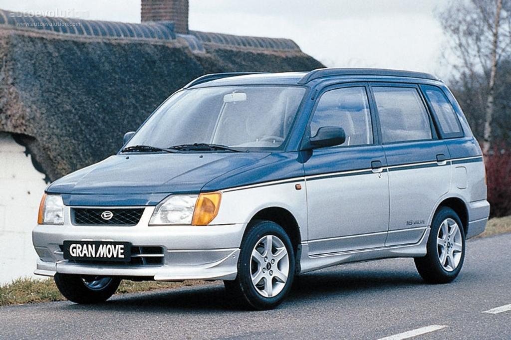 Daihatsu Gran Move 1996 1997 1998 1999 Autoevolution