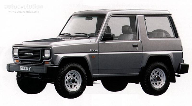 DAIHATSU Rocky Hardtop specs - 1988, 1989, 1990, 1991, 1992, 1993 ...