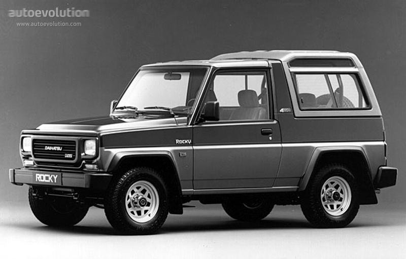 DAIHATSU Rocky Wagon specs - 1988, 1989, 1990, 1991, 1992, 1993, 1994 - autoevolution