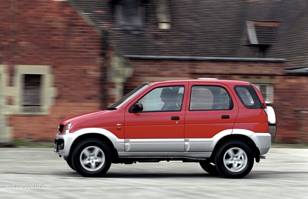 Daihatsu Terios Specs 1997 1998 1999 2000 Autoevolution