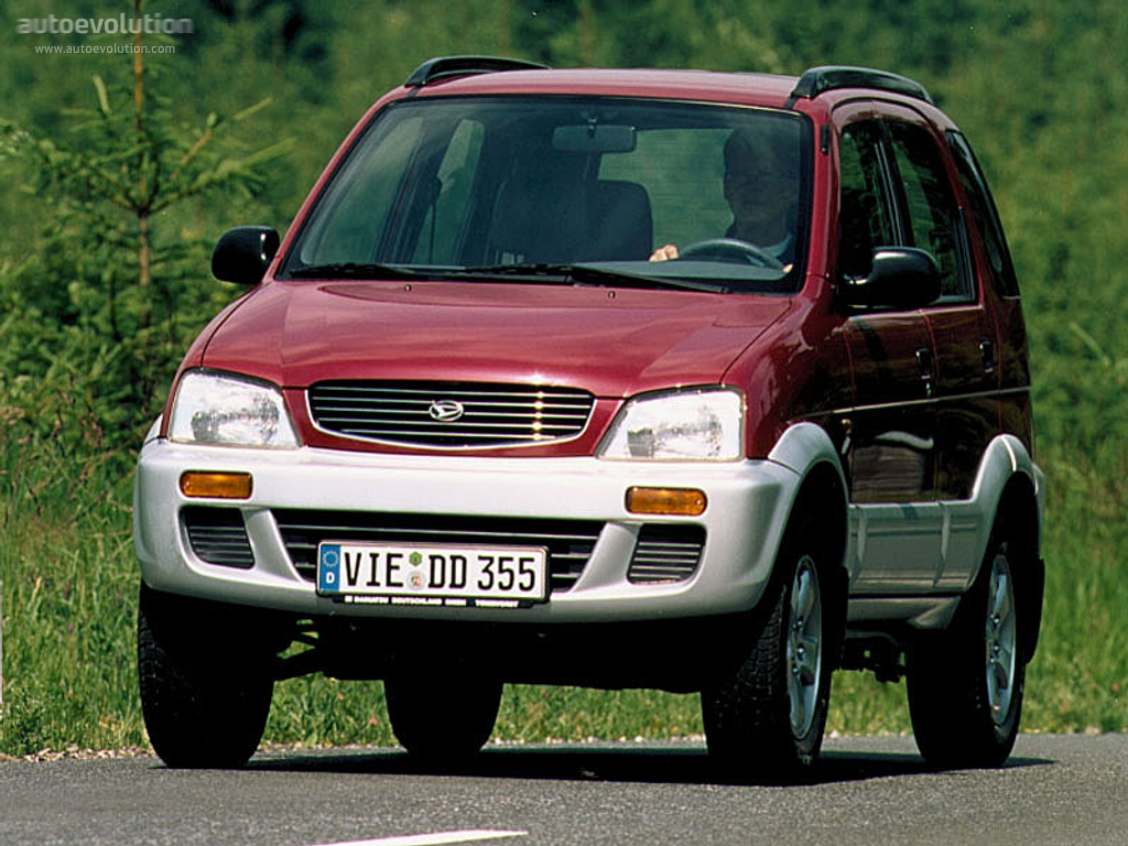 DAIHATSU Terios - 1997, 1998, 1999, 2000 - autoevolution