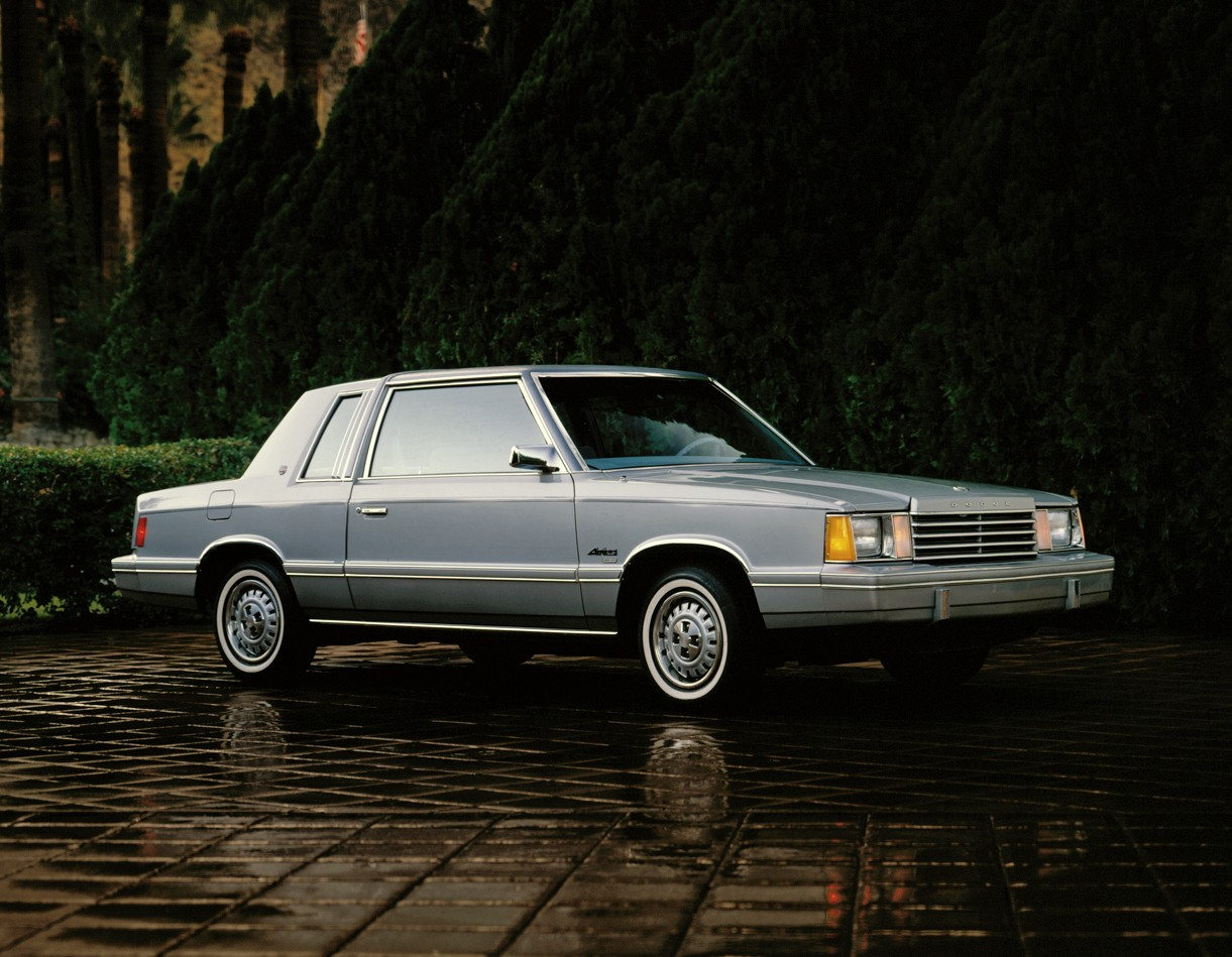 DODGE Aries Coupe - 1981, 1982, 1983, 1984, 1985, 1986 ...