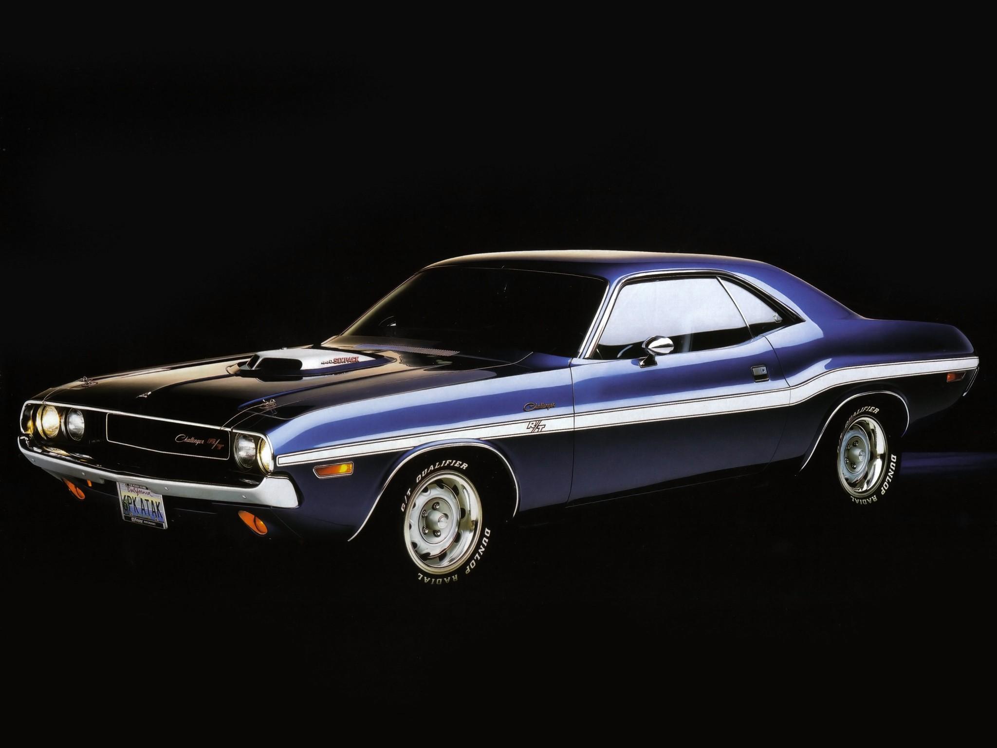 Dodge Challenger on Dodge V8 Engine