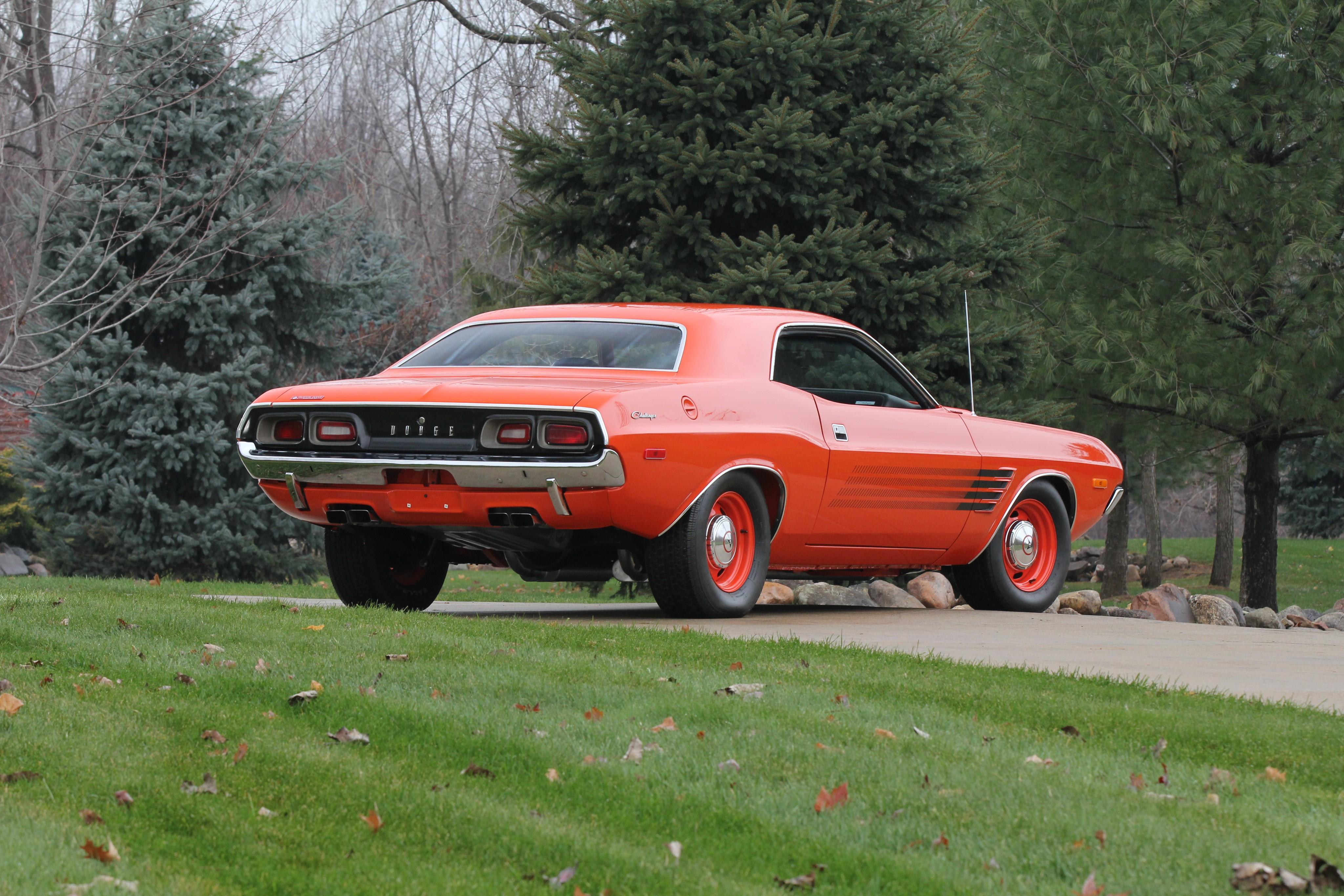 Dodge Challenger on Mercury V8 Engine
