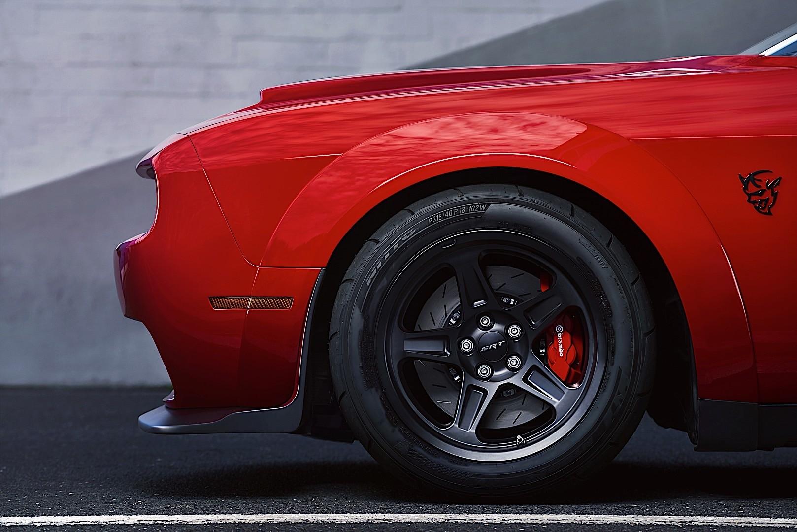 DODGE Challenger SRT Demon specs - 2017, 2018 - autoevolution