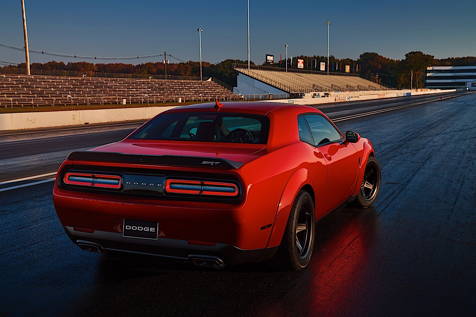 challenger dodge demon srt specs autoevolution cars