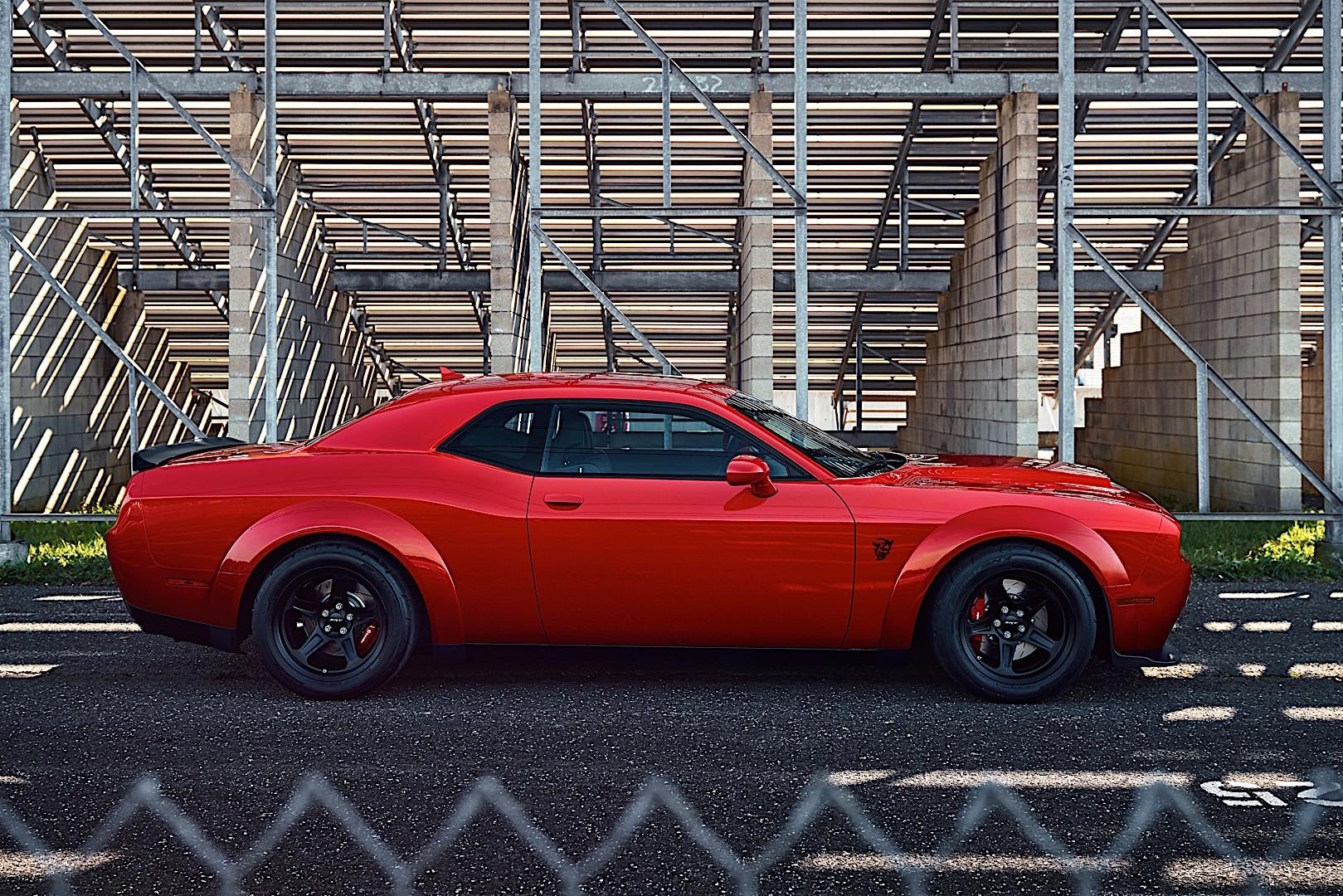 Dodge challenger fuel capacity