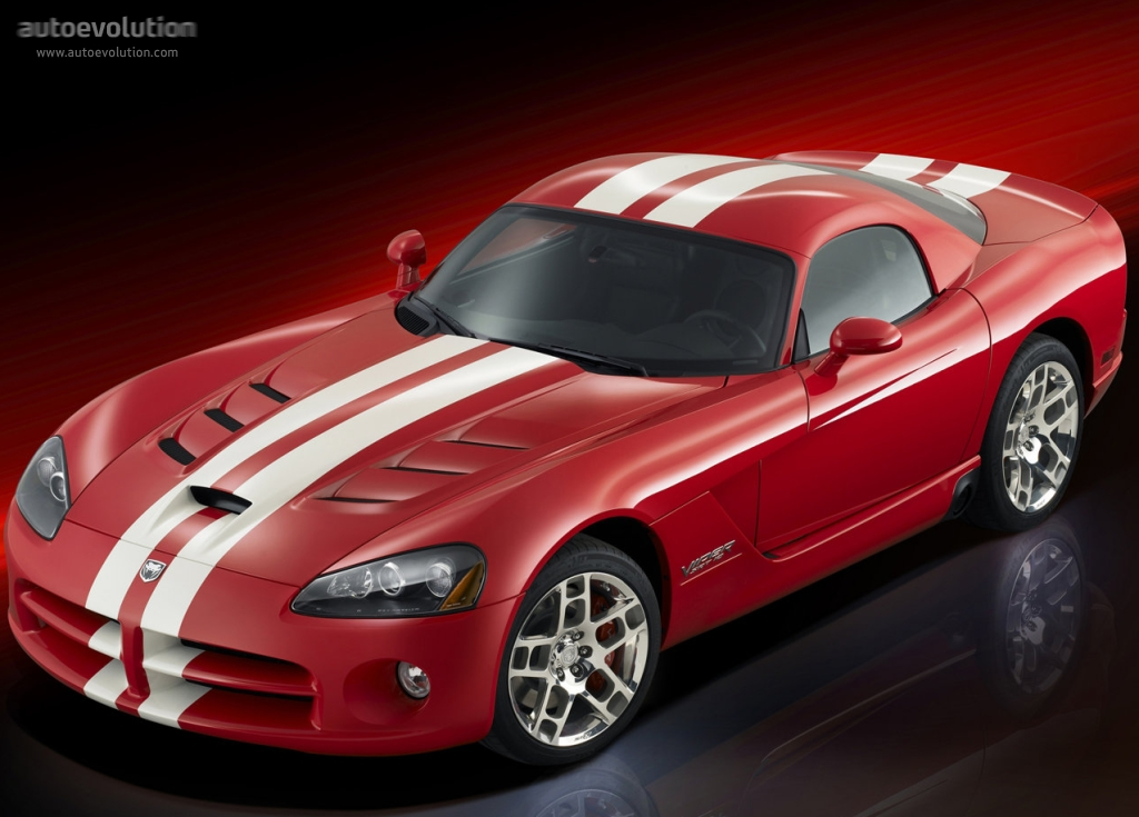 Dodge Viper Srt10 Coupe 2007 2008 2009 2010