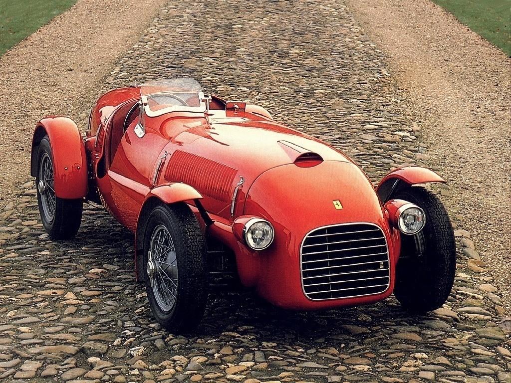 Ferrari 166 Spyder Corsa 1947 1948 1949 1950