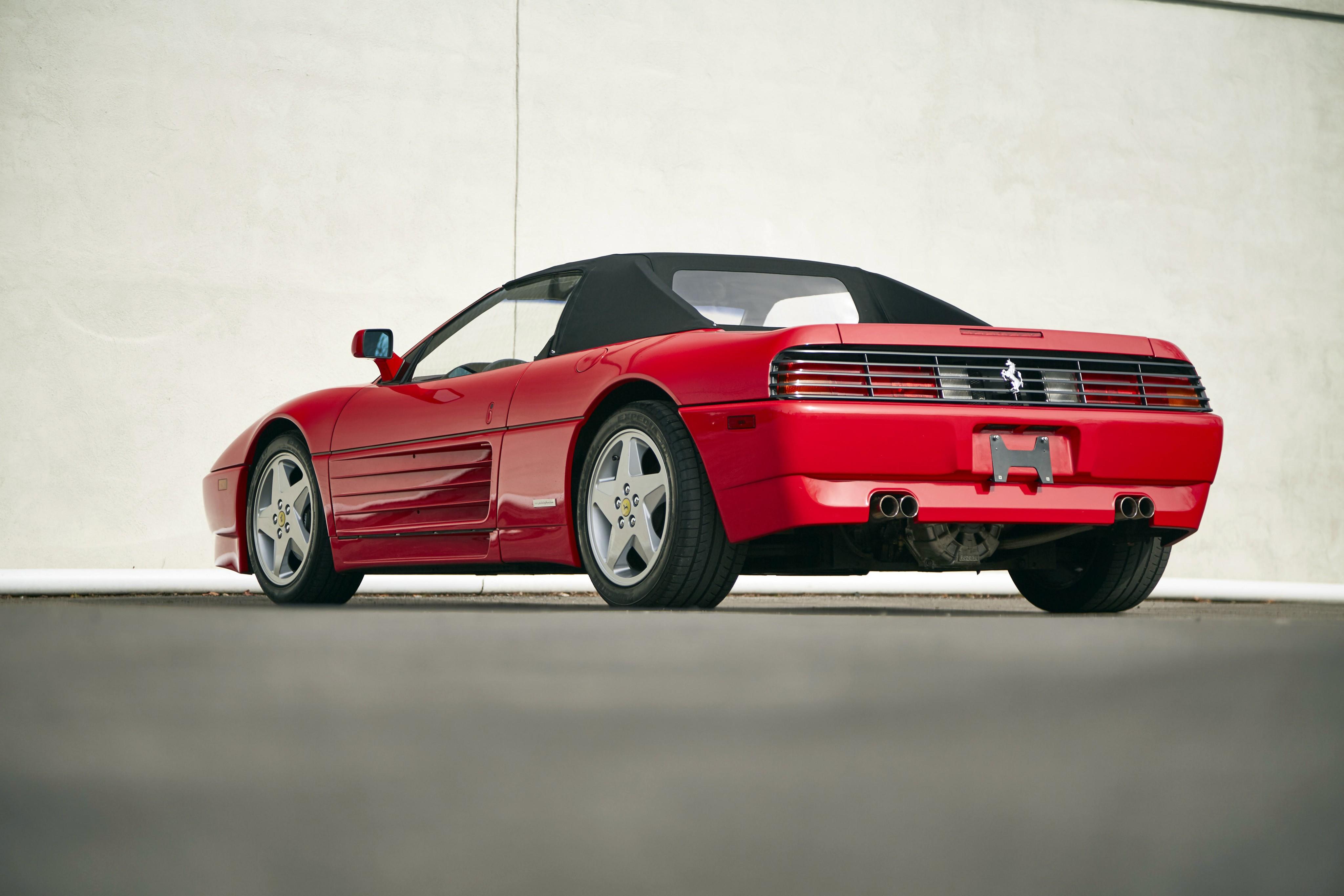 FERRARI-348-Spider-1070_29 Extraordinary Ferrari Mondial 3.4 T Review Cars Trend
