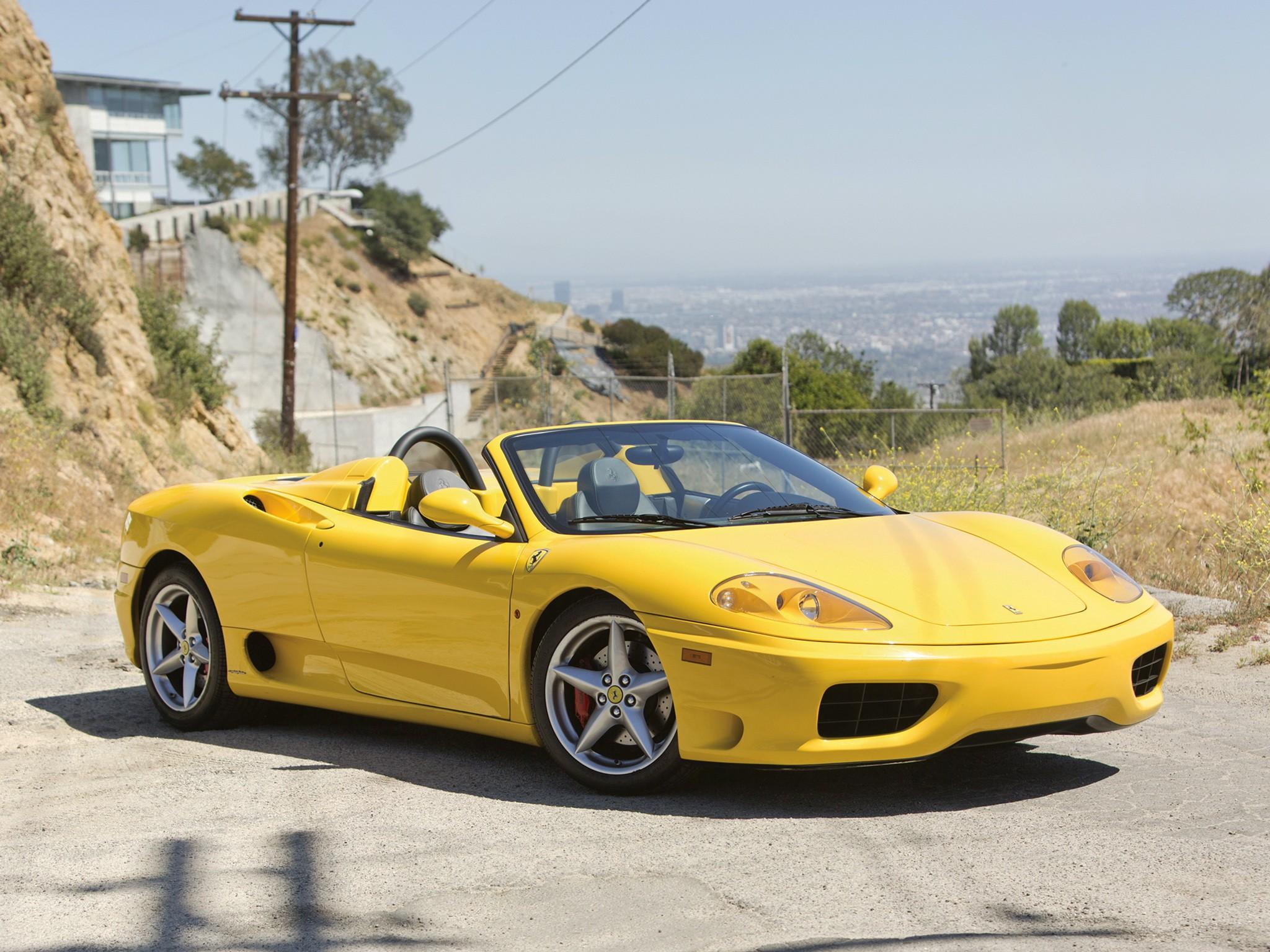 Ferrari 360 Spider Spezifikationen Fotos 2000 2001 2002 2003 2004 2005 Autoevolution In Deutscher Sprache