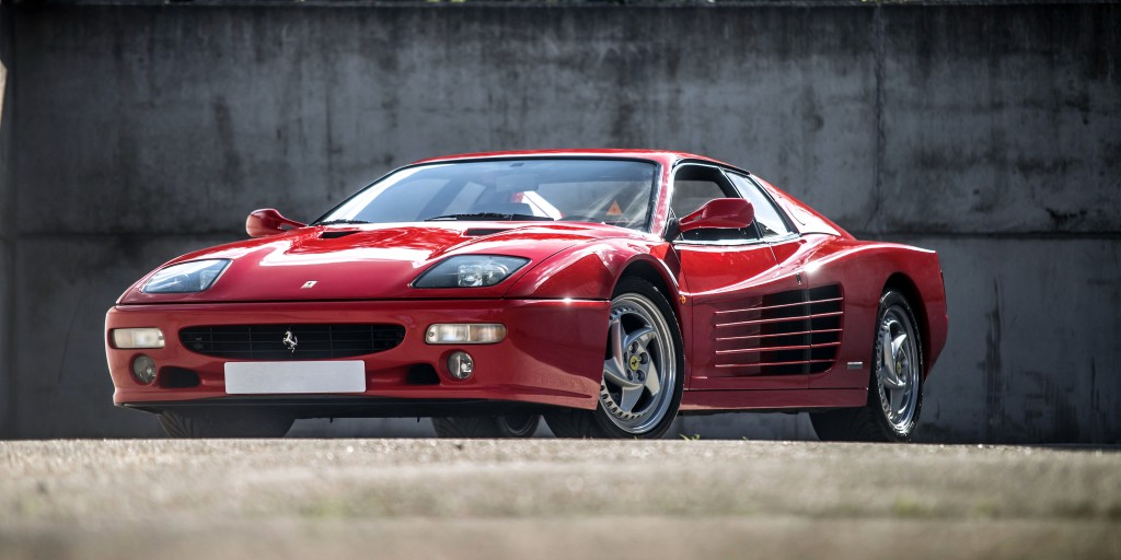 Ferrari 512 M Specs Amp Photos 1994 1995 1996 Autoevolution