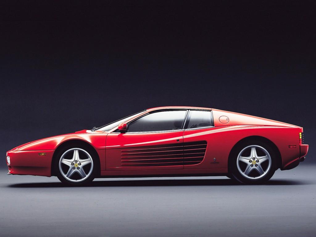 Ferrari Tr on 1994 Ford Interior