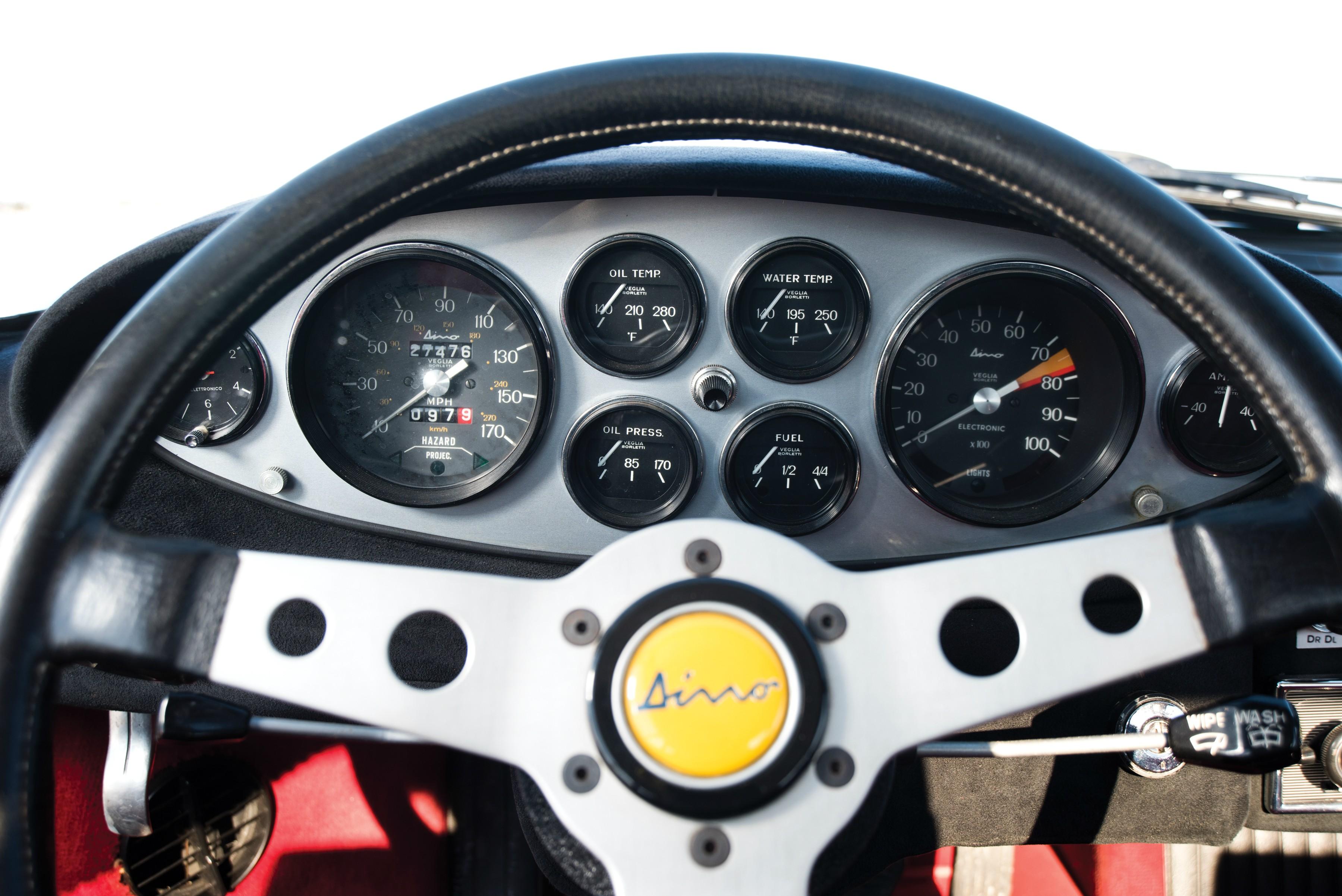 Ferrari Dino Gt on V6 Engine Camshaft