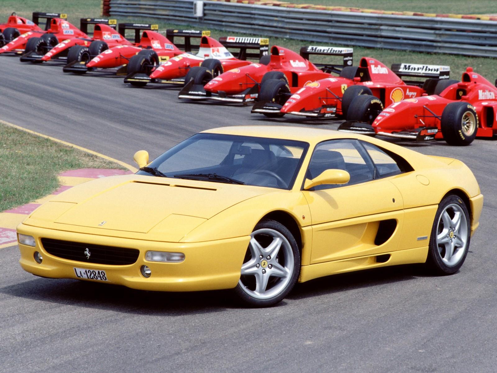 Ferrari F355 Specs 1994 1995 1996 1997 1998 1999