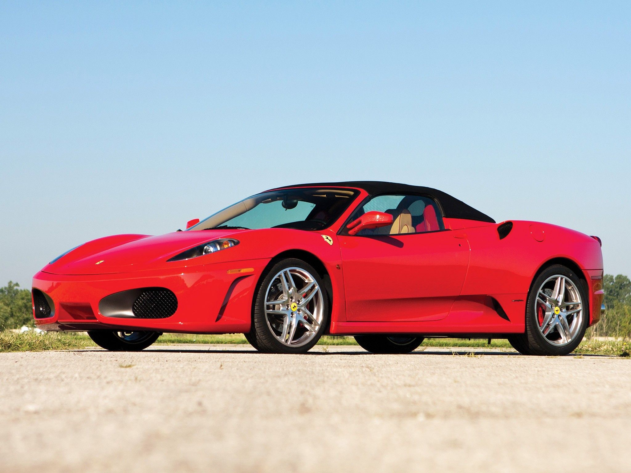 Ferrari F430 Spider 2005 on fisker spider
