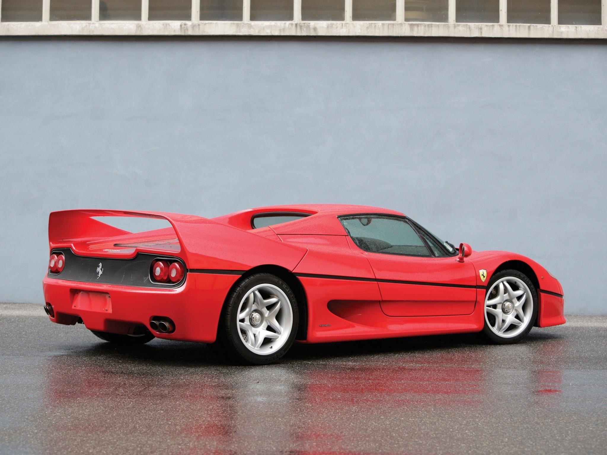 Ferrari F50 1995 1996 1997 Autoevolution