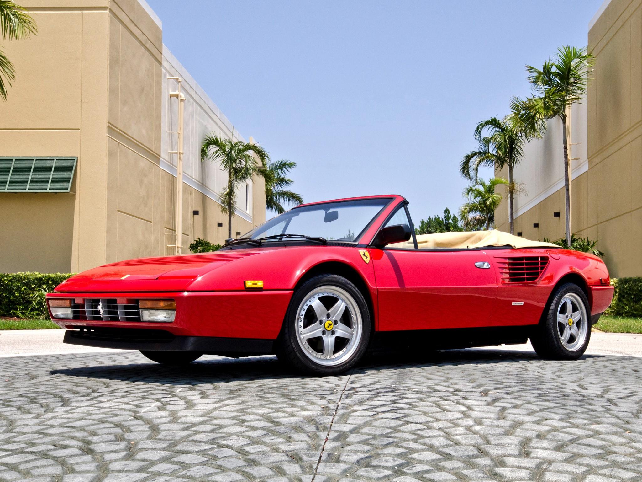 Ferrari Mondial 3 2 Cabriolet Specs 1985 1986 1987