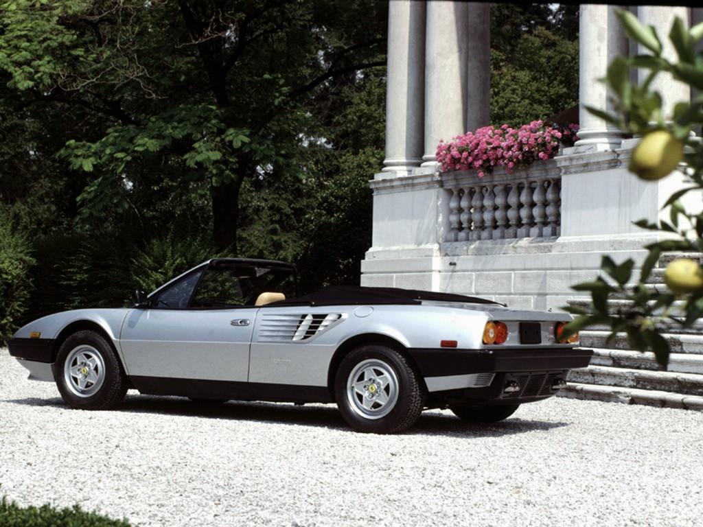ferrari mondial quattrovalvole cabriolet 1983 1984. Black Bedroom Furniture Sets. Home Design Ideas