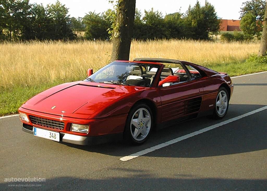 Ferrari 348 Spider Specs 1993 1994 1995 Autoevolution