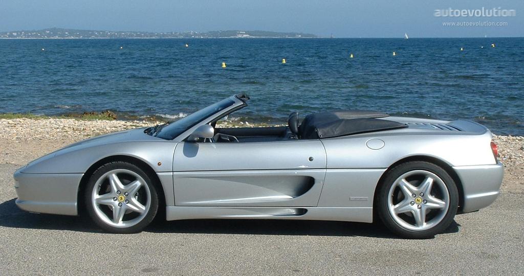 Ferrari F355 Spider Specs Photos 1995 1996 1997 1998 1999